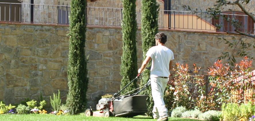 Manutenzione giardini fiori nel chianti for Manutenzione giardini